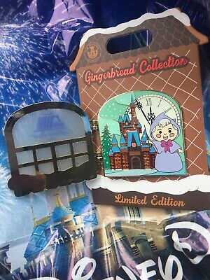 Disney 2019 Holiday Gingerbread Pin Fairy Godmother Contemporary 10th Annual