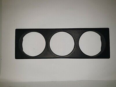 MX5 MK1 MK2 MK2.5 SINGLE DIN 3 GAUGE PANEL 3D PRINTED £17.99 FREE p&p BARGAIN