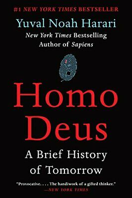 NEW - Homo Deus: A Brief History of Tomorrow by Harari, Yuval Noah