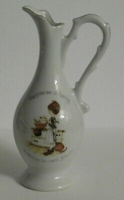 Vintage Small Holly Hobbie Jug