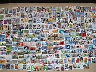 Bulk 200 Sorted australian stamps no doules