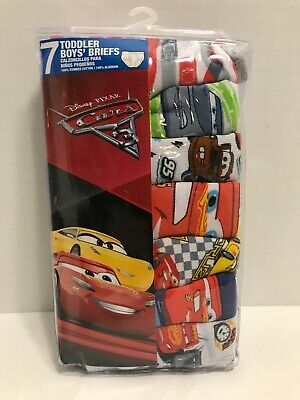 Disney Little Boys Cars 5-Pack Brief Colors and Prints may Vary