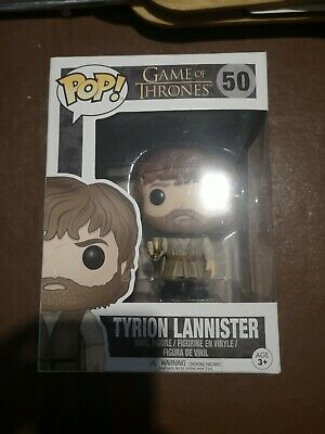 NUOVO Game of Thrones Tyrion Lannister Pop Figura in vinile #50 Funko ufficiale