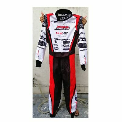Birel art Go Kart Race Suit Sublimated with Free Gift