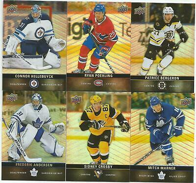 2019-20 UD Tim Hortons Base Pick [2] For $0.99 Free Combined Shipping on Base