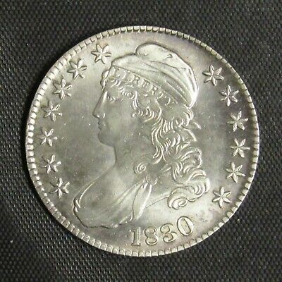 1830 Capped Bust Half Dollar UNC