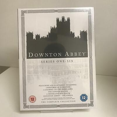 Downton Abbey The Complete Collection Series 1-6 DVD - New and Sealed