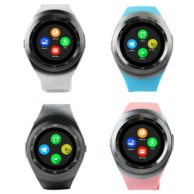 Multifunction Wireless Bluetooth Touch Smart USB Rechargeable Wristwatch Watch