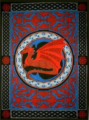 Dragon Tapestry 193 Wall Hanging / Bed Cover / Window Cover