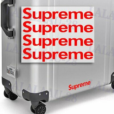 Supreme4 Sticker Box Waterproof Phone Laptop Backpack Skateboard Decals Stickers
