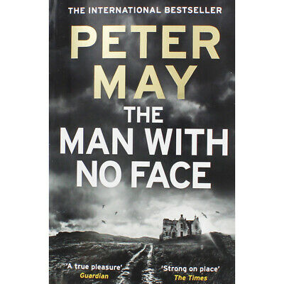 The Man With No Face by Peter May (Paperback), Fiction Books, Brand New