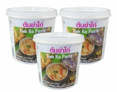 (8,74€/1kg) [ 3x 400g ] LOBO Tom Ka Würzpaste Thai Style / Tom Kha Paste