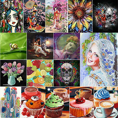 5D Diamond Painting Embroidery Cross Craft Stitch Pictures Arts Kit Home Decor