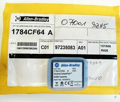 Allen-Bradley 1784-CF64 A Rev. C01 Industrial CompactFlash 64MB -used-