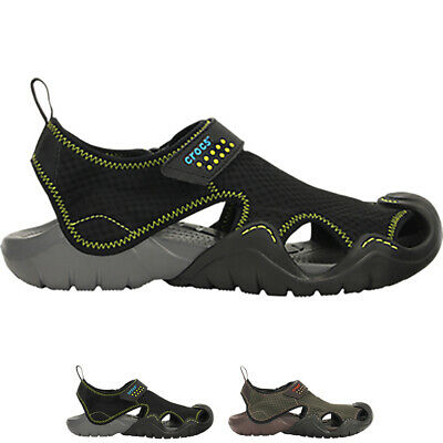 Mens Crocs Swiftwater Sandal M Pool Sea Shower Holiday Summer Shoes All Sizes