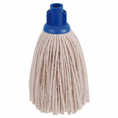 NEW! 2Work PY Smooth Socket Mop 12oz Blue Pack of 10 101869B