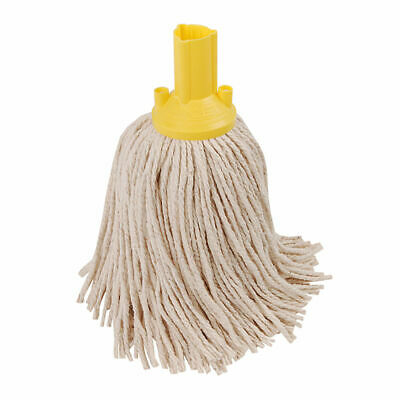 NEW! Exel 250g Mop Head Yellow Pack of 10 102268YL