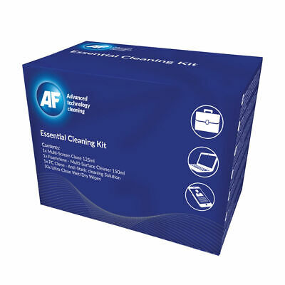 NEW! AF Essential Cleaning Kit Multi Screen Clene PC Clene Wipes Foam Clene Ultr