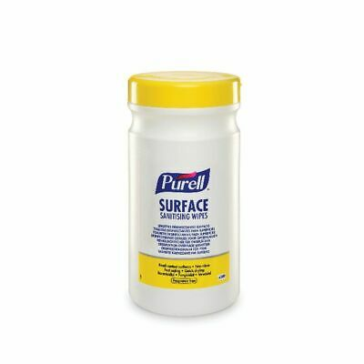 NEW! Purell Surface Sanitising Wipes Pack of 200 95104-06-EEU