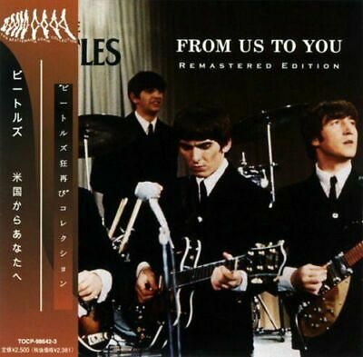 BEATLES - FROM US TO YOU ( 2 MINI LP AUDIO CDs w/OBI & BOOKLETS ) FREE SHIPPING