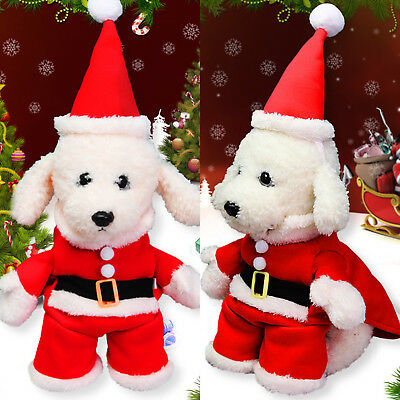 Christmas Pet Dog Puppy Hoodie Top Xmas Warm Jumpsuit Clothes Cute Costume Soft