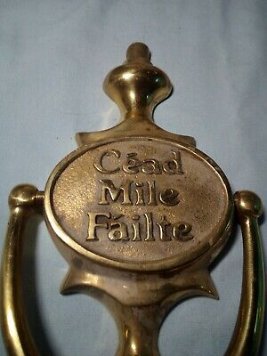 Vtg Door Knocker Irish