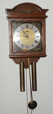 Ridgeway Wall Clock 8 Day Weight Driven Long Pendulum Regulator