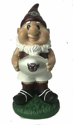 Manly Sea Eagles NRL Solar Powered Light-up Ball Design Gnome