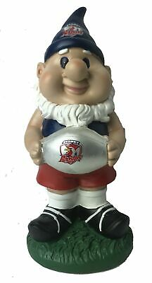 Sydney Roosters NRL Solar Powered Light-up Ball Design Gnome