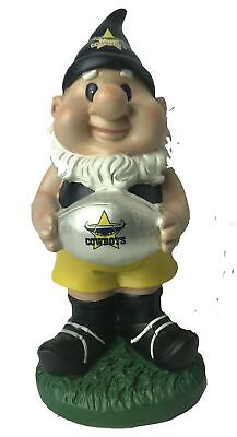North Queensland Cowboys NRL Solar Powered Light-up Ball Design Gnome