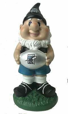 Port Adelaide Power AFL Solar Powered Light-up Ball Design Gnome