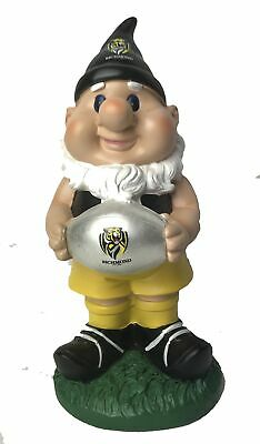 Richmond Tigers AFL Solar Powered Light-up Ball Design Gnome