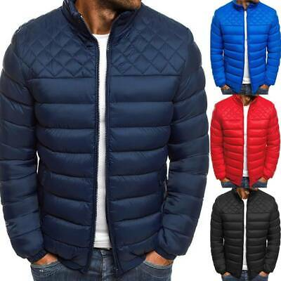 Winter Warm Men Puffer Bubble Down Coat Quilted Padded Jacket Outwear Thicken