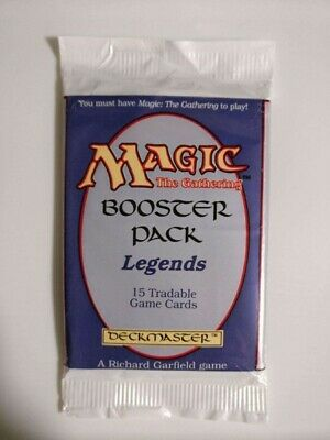MTG Magic The Gathering LEGENDS English 15 Card Booster Pack SEALED NEW 1994