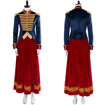Clara The Nutcracker And The Four Realms Cosplay Costume Dress Outfit
