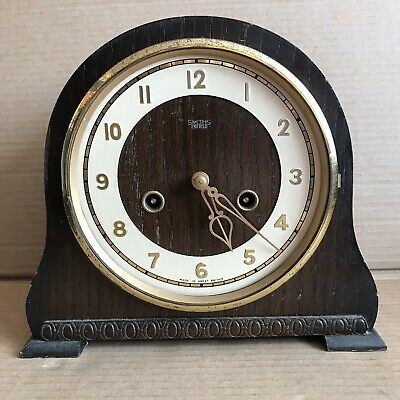 Vintage Smiths Mantle Clock - Pendulum Movement Marked 535