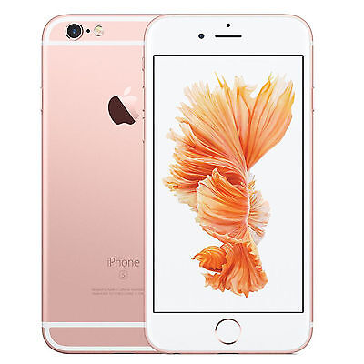 Apple FKQM2B/A iPhone 6S 16GB (Unlocked) - Rose Gold+WARRANTY