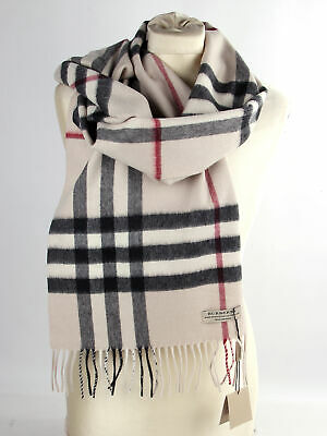 Burberry Schal Trench Check Giant Icon 100 Cashmere 168 X 30cm
