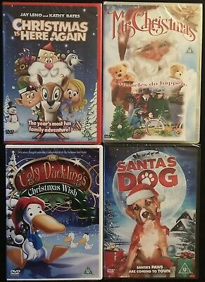 Kids / Family Christmas DVD bundle. 4 Movies. New/Sealed. Great Stocking Filler.