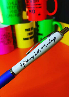 Funny Pens - Rude Cheeky Novelty Office Secret Santa - I Hate Mondays	PEN33
