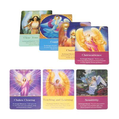 Full English Magic Archangel Oracle Cards Earth Magic Fate Tarot Deck Card 2019