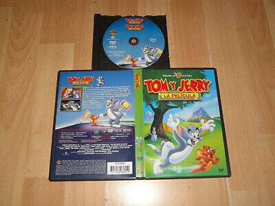 Tom Y Jerry La Pelicula En Dvd Animacion De La Warner Bros. En Buen Estado