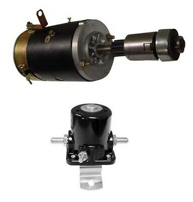 6V Starter with Drive and Solenoid fits Ford 2N ('39-'52) 9N11002 SA546 8N11450