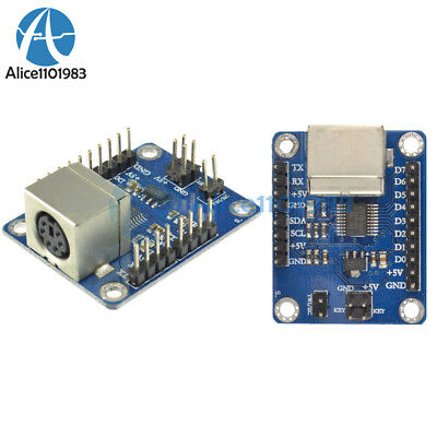 2PCS PS2 Keyboard Driver Module Serial Port Transmission Module for arduino AVR