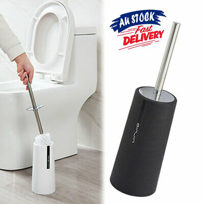 Toilet Brush Cleaning Stand Holder Discount Bathroom Bath KU Home Free Standing