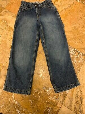 Gap Kids Boys Carpenter Jeans Adjustable Waist  Sz 10 Regular