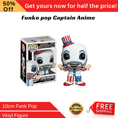 Funko pop Captain Spaulding Action Figure Anime Model Pvc Collection Toys New