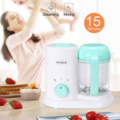 Baby Food Maker Steamer Mixing Grinder Mini Blender Processor Chopper Cooking
