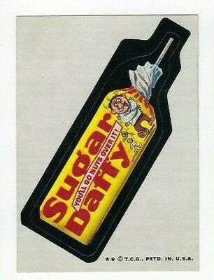 """1974 Topps Wacky Packages Series #11 /""""Decay Toothpaste/"""" NM"""