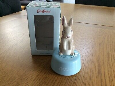 Cath Kidston Rabbit Bunny  Timer Kitchen Egg Food Brand New With Gift Bags